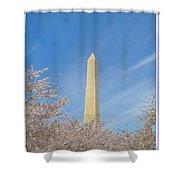 Enchanting Spring In Washington Shower Curtain