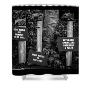 Encore Pipe Trio Shower Curtain