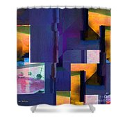 Encroachment Shower Curtain