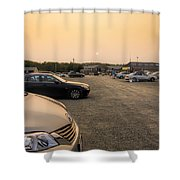 End Of A Summer Day Shower Curtain