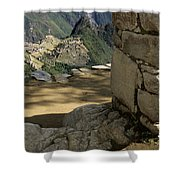 End Of Inca Trail Shower Curtain
