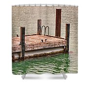 End Of Small Pier Shower Curtain