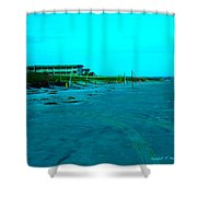 End Of The Day At Isle Of Palms Shower Curtain