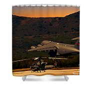 End Of The Day Departure Shower Curtain