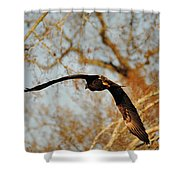 End Of The Day Shower Curtain