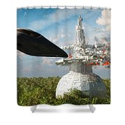 End Of The Kordoni Accords... Shower Curtain