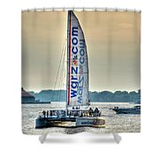 End Of The Tour Back To Shore Shower Curtain