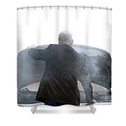 End Of The Trip Shower Curtain