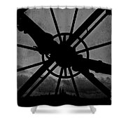 End Of Time Shower Curtain