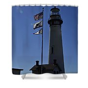 End Of Watch Shower Curtain