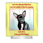 End The Puppy Mills Shower Curtain