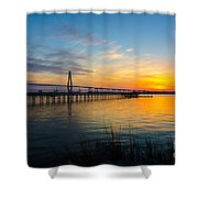 End To The Day Shower Curtain