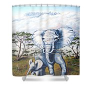 Endangered Shower Curtain