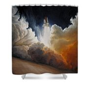 Endeavour Shower Curtain