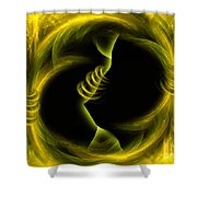 Endless Compromises - Abstract Art By Giada Rossi Shower Curtain