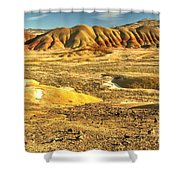 Endless Painted Hills Shower Curtain