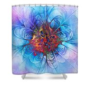 Endless Waltz Shower Curtain