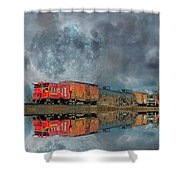 End's Reflection Shower Curtain