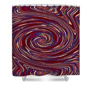 Energy Euphoria Wave Art Suitable For Large Format Prints Digital Graphic Signature   Art  Navinjosh Shower Curtain