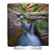 Energy Shower Curtain by Peter Coskun