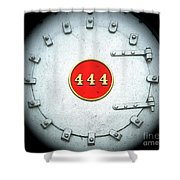 Engine 444 Shower Curtain