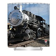 Engine 4455 In The Colorado Railroad Museum Shower Curtain