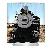 Engine 494  Shower Curtain by Jeff Swan