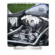 Engine Close-up 5 Shower Curtain