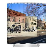 Engine Co. No. 2 In Providence Ri Shower Curtain