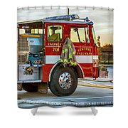 Engine Company 701 Shower Curtain