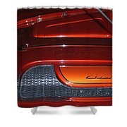 Engine Cover For 57 Nomad Shower Curtain