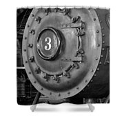 Engine Number 3 Shower Curtain