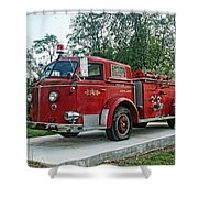 Engine Number One Shower Curtain
