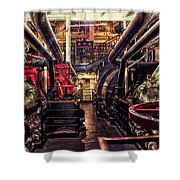 Engine Room Queen Mary 02 Shower Curtain