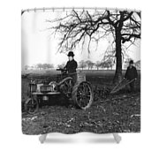 England Motor Plow, C1905 Shower Curtain