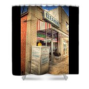 Englewood Cleaners 4540 Shower Curtain