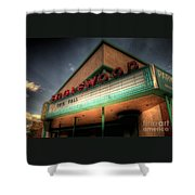Englewood Theater 4507 Shower Curtain