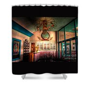 Englewood Theater 4597 Shower Curtain