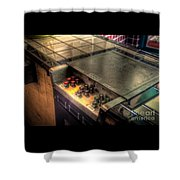 Englewoodgrill4609-10-11 Shower Curtain