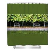 English Autumn Shower Curtain