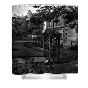 English Country Garden And Mansion - Series II Shower Curtain