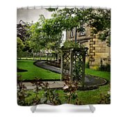 English Country Garden And Mansion - Series IIi. Shower Curtain