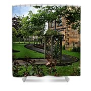 English Country Garden Shower Curtain