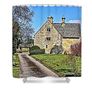 English Farmhouse Shower Curtain