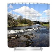 English Fjord Shower Curtain