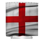 English Flag Shower Curtain