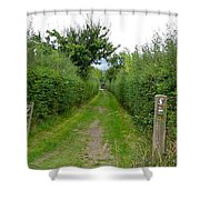 English Footpath Shower Curtain