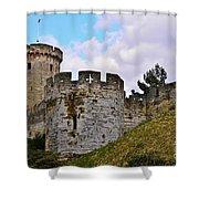 English History Shower Curtain