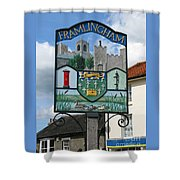 English Market Town Shower Curtain