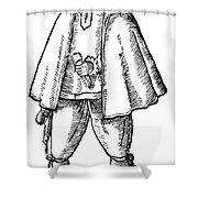 English Merchant, 1598 Shower Curtain